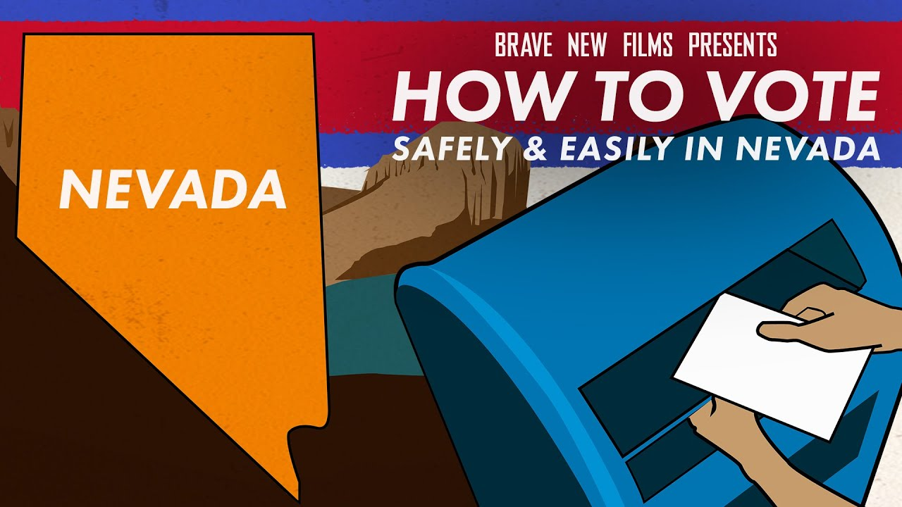 How To Vote Safely & Easily In Nevada • BRAVE NEW FILMS (BNF)