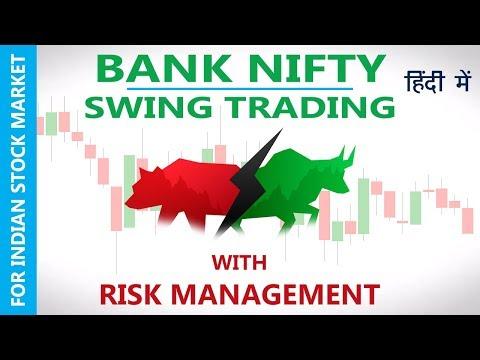 BANK NIFTY  SWING STRATEGY + RISK MANAGEMENT (Hindi) 2017