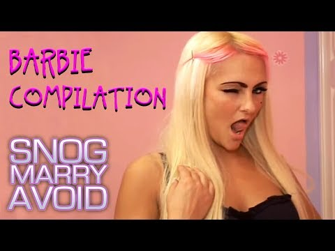 Barbie Wannabe Makeunders Compilation   Snog Marry Avoid?