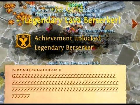 Order & Chaos Online: 2. Legendary Lava Weapon ;)