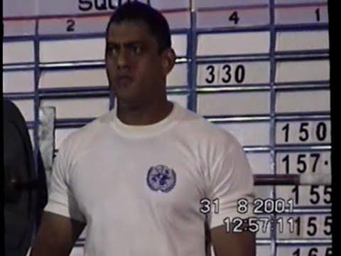 Jeevan Singh - National Powerlifting Championship Jamshedpur-2001 (Category 82 5 kg)