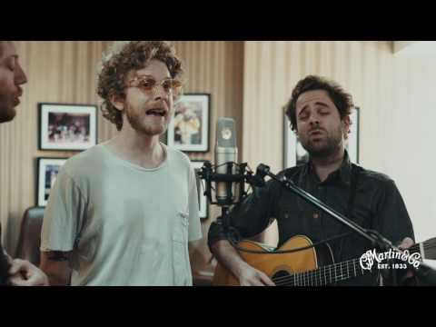 "C.F. Martin & Co. Presents: Dawes (Backstage at the Ryman performing ""Roll Tide"")"
