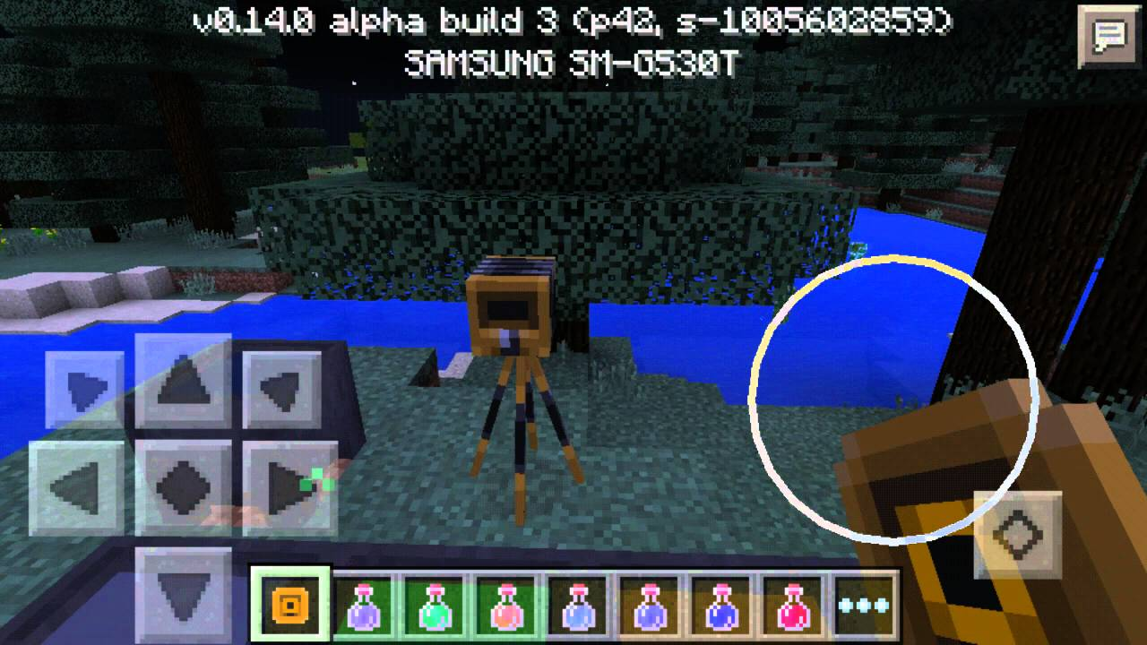 Minecraft Pe 0140 New Potion Cauldron Youtube