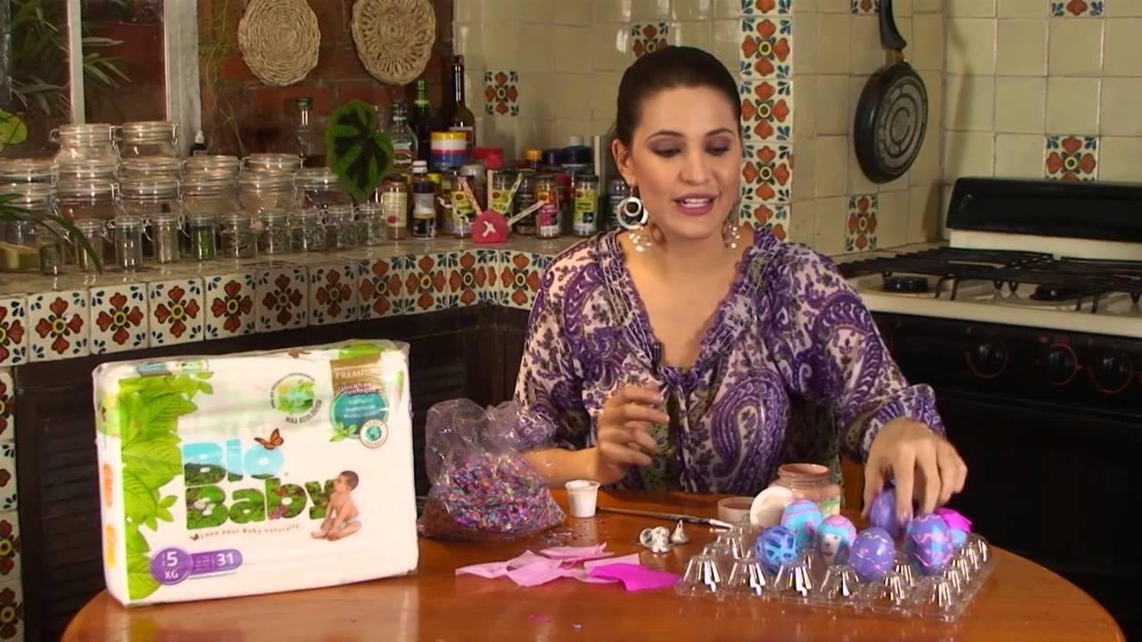 Huevos rellenos de confeti youtube for Como hacer confeti