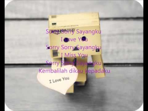 sorry sorry sayangku