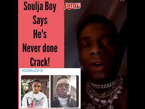 Soulja Boy says he's NOT ON CRACK