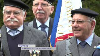 Mémoire : souvenir du 11 novembre 1918