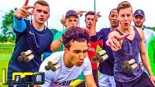 Schwierigste Woodwork Fußball Challenge + Eiswasser Bestrafung!