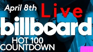 live billboard hot 100 top 10 official countdown april 8th early release