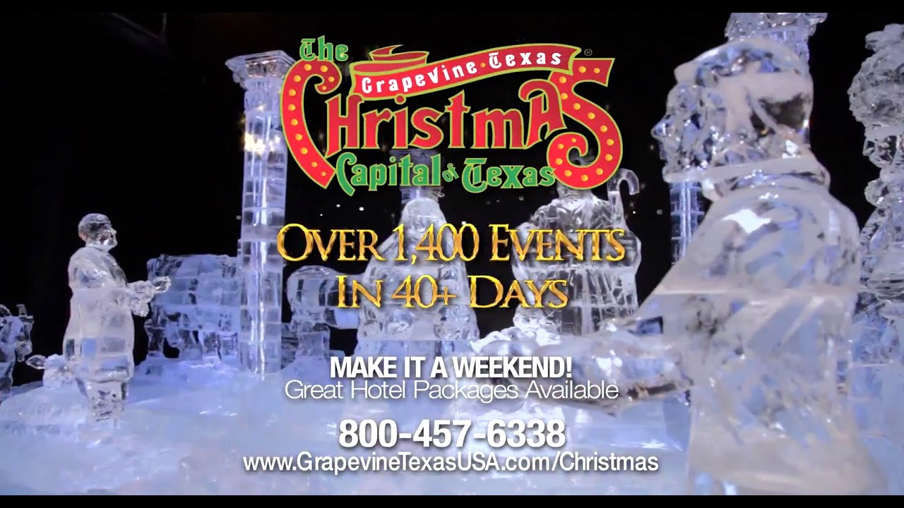 Grapevine Christmas Capital of Texas 2014 - YouTube