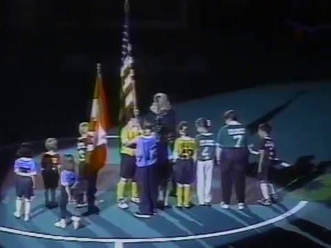1996-97 Toronto Shooting Stars @ Cleveland Crunch NPSL
