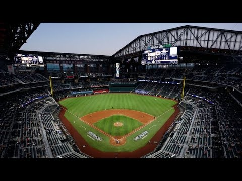 LOOK: Texas Rangers open ballpark to full-capacity crowd for home ...