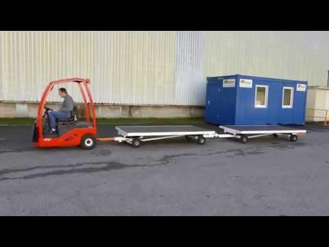 ManuLine - Paire de remorques industrielles réversibles