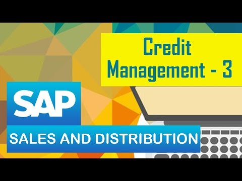 SAP SD | Credit management | Setting up Credit Check  | Part 03