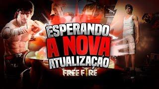 💥FREE FIRE ESPERANDO A NOVA ATUALIZAÇÃO💥 TOP GLOBAL #MESTRE