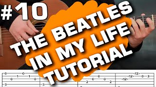 The Beatles In My Life Guitar Lesson How to Play on Guitar,fingerstyle Tutorial (guitarclub4you)