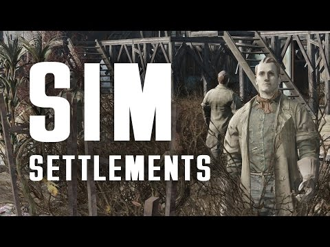 SIM Settlements - Settlements Build Themselves! - A Game-Cha