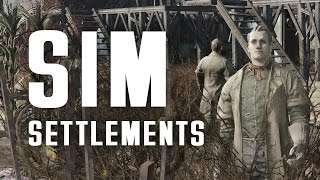 SIM Settlements - Settlements Build Themselves! - A Game-Changing Mod for Fallout 4