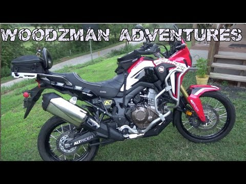 Honda Africa Twin How To Mount Your GPS Magellan TRX7 CRF1000L
