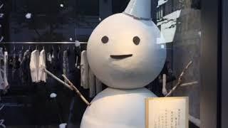アイメタル 東京 銀座 '' コムサ '' 天然クーラーがテーマのディスプレイ!