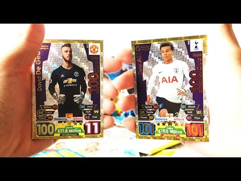 100 CLUBS OMG OMG!? | Match Attax 2017/18 Pack Opening