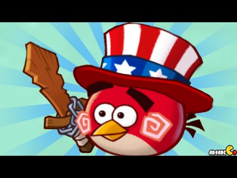 Angry Birds Fight! - New Slot Items Happy 4th July American Hat! iOS/Android