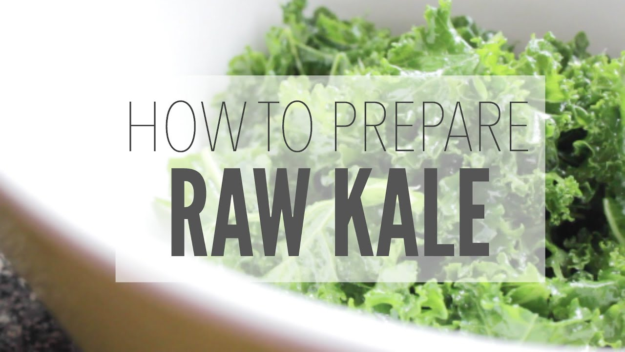 Do you eat kale raw or cooked
