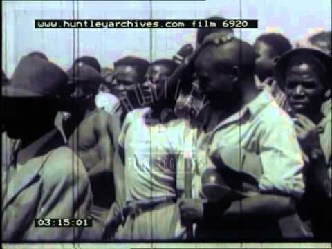 News from South Africa, 1940's - Film 6920