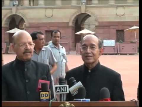 India's Election Commissioners Meet President To Present List