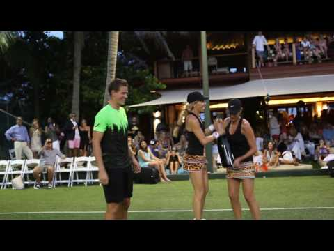 Necker Cup 2014 Tennis Champions on Necker Island