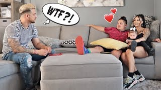 FLIRTING WITH BESTFRIENDS WIFE IN FRONT OF HIM! *He Gets Angry*