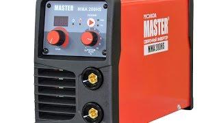 Сварочный инвертор для ручной дуговой сварки MMA 200HS Master. Обзор, инструкция.(Данный аппарат предназначен для ручной электродуговой сварки на постоянном токе углеродистых и нержавеющ..., 2015-04-06T08:54:08.000Z)