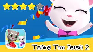 Talking Tom Jetski 2 Angela's Beach Resort Day3 Walkthrough New Game Plus Recommend index four stars