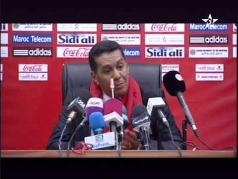 Maroc Mozambique 4-0: Conférence de presse Rachid Taoussi (رشيد الطاوسي)