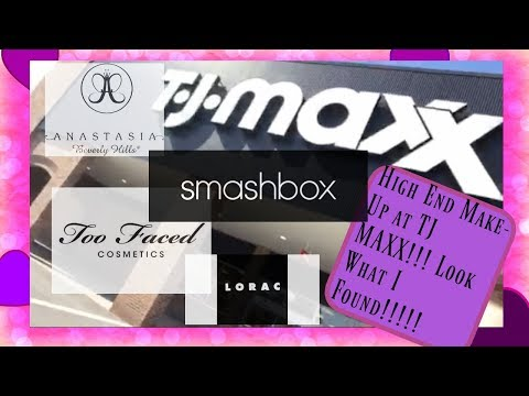 HIGH END CHEAP MAKEUP AT TJMAXX!!! Come shopping with me!!!