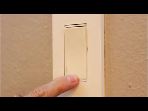 How To Replace The Kitchen Light Switch Episode 085 YouTube