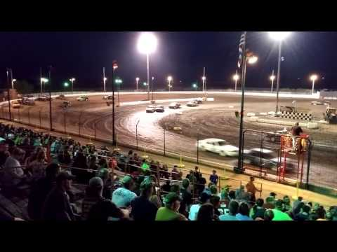 Sycamore Speedway 6/24/16 - 25 Cars, 25 Laps