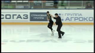 Наталья и Дмитрий Щегловы, парное катание, 1 место(Взрослые любительские соревнования по фигурному катанию