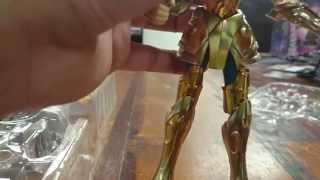 4am - Bandai Saint Seiya Myth Cloth EX Aquarius Camus (Assembly + Review)