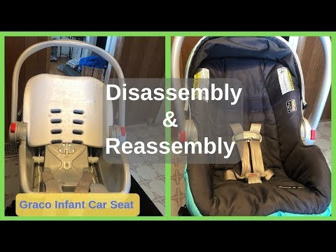 How To Disassemble & Reassemble Your Graco Snug Ride Click & Connect Infant Car Seat