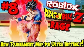 NEW TOURNAMENT MAP FOR ULTRA INSTINCTS! | Roblox: Dragon Ball Z Rage Remastered - Episode 8