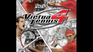 Virtual Tennis 5 gameplay pc-------max settings-------gameplay in paris.......