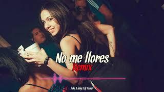 No Me Llores 💔   - Duki X Leby X Dj Toomi
