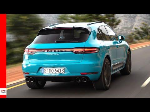 2020 Porsche Macan Turbo Miami Blue