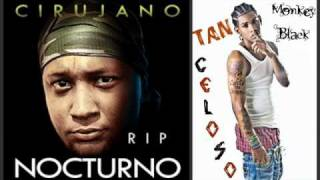 El Cirujano Nocturno Ft Monkey Black - Tan Celoso