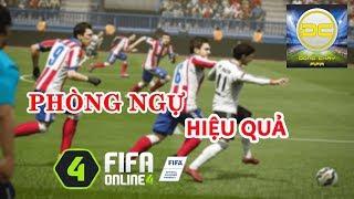 Fifa Online 4 | Hướng dẫn cách phòng ngự hiệu quả