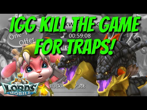 NEW Blackwing Familiar Trap Killer! - Lords Mobile