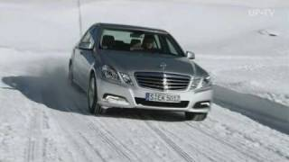 Mercedes Benz E-Klasse 4MATIC - Winter comfort
