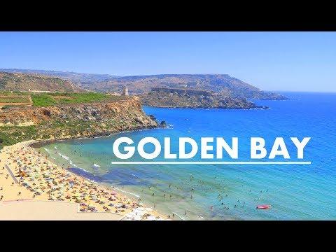 Golden Bay Beach / Golden Sands / Malta