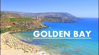 Gambar cover Golden Bay Beach / Golden Sands / Malta